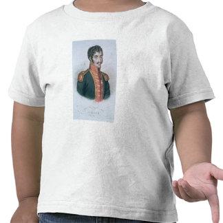 Portrait of Simon Bolivar Tshirts