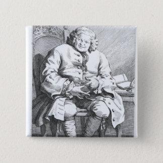 Portrait of Simon Fraser, Lord Lovat Button