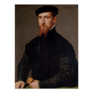 Portrait of Simon Renard  1553 Poster