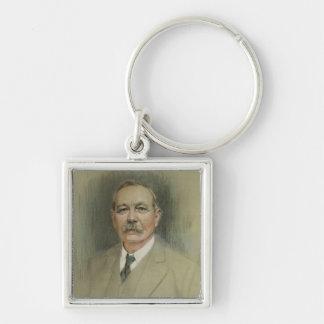 Portrait of Sir Arthur Conan Doyle Keychain