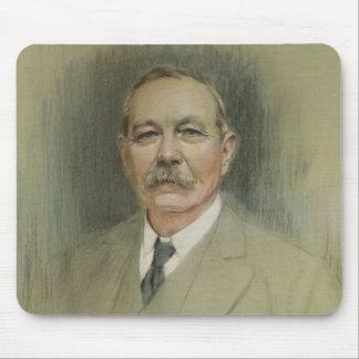 Portrait of Sir Arthur Conan Doyle Mouse Pad