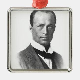 Portrait of Sir Douglas Mawson Metal Ornament