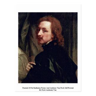 Portrait Of Sir Endimion Porter Postcard