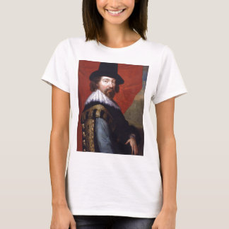 Portrait of Sir Francis Bacon Viscount St Alban T-Shirt