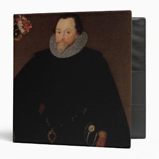 Portrait of Sir Francis Drake  1591 3 Ring Binders