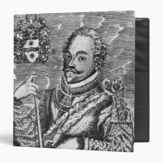 Portrait of Sir Francis Drake Vinyl Binders