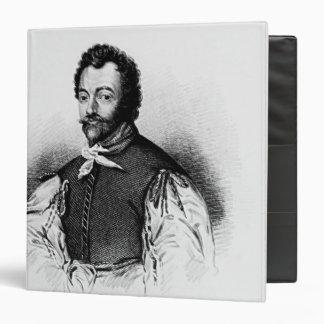 Portrait of Sir Francis Drake Vinyl Binder