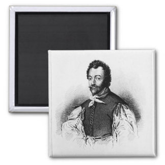 Portrait of Sir Francis Drake Magnet