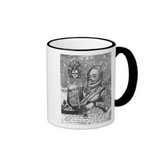 Portrait of Sir Francis Drake Ringer Mug