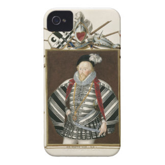Portrait of Sir Henry Lee (1530-1610) from 'Memoir iPhone 4 Cases