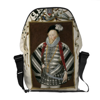 Portrait of Sir Henry Lee 1530-1610 from Memoir Courier Bag
