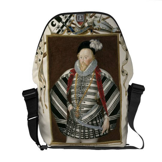 Portrait of Sir Henry Lee (1530-1610) from 'Memoir Messenger Bag