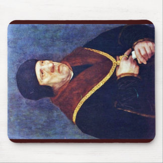 Portrait Of Sir Henry Wyatt Mouse Pad