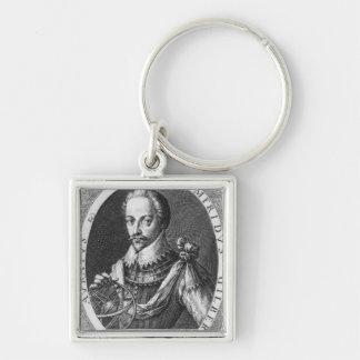 Portrait of Sir Humphrey Gilbert Keychain