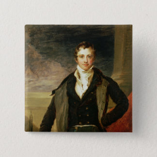 Portrait of Sir Humphry Davy Button