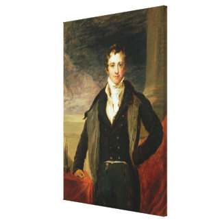 Portrait of Sir Humphry Davy Canvas Print