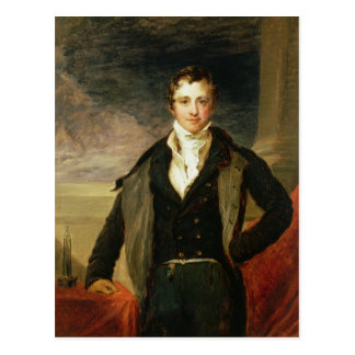 Portrait of Sir Humphry Davy Postcard