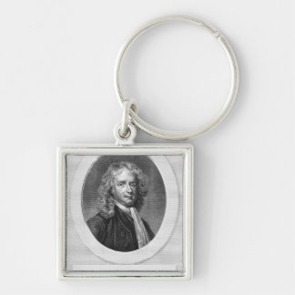 Portrait of Sir Isaac Newton Keychain