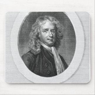 Portrait of Sir Isaac Newton Mouse Pad