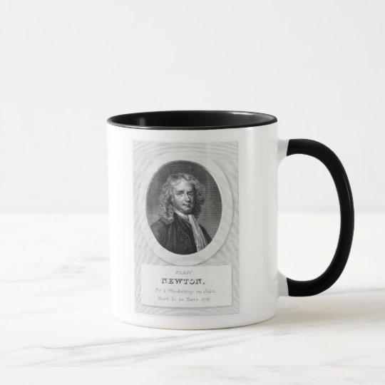 Portrait of Sir Isaac Newton Mug