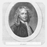 Portrait of Sir Isaac Newton Sticker