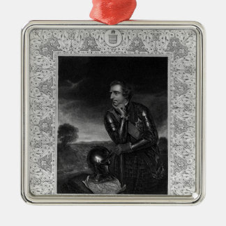 Portrait of Sir Jeffrey Amherst Metal Ornament