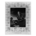 Portrait of Sir Jeffrey Amherst Posters
