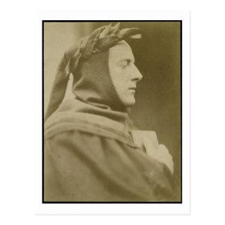 Portrait of Sir John Everett Millais (1829-96) Dre Postcard