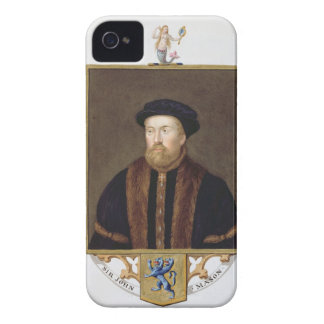 Portrait of Sir John Mason (1503-66) from 'Memoirs iPhone 4 Case-Mate Case