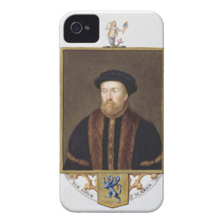 Portrait of Sir John Mason (1503-66) from 'Memoirs iPhone 4 Cover