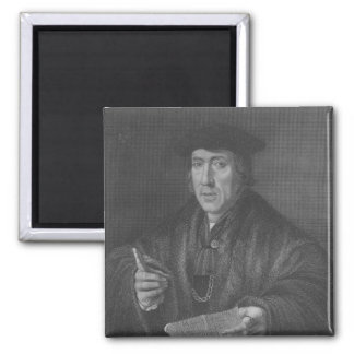 Portrait of Sir John More , engraved by W.T.Mote 2 Inch Square Magnet