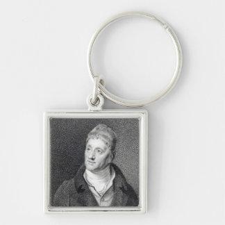 Portrait of Sir John Soane Keychain