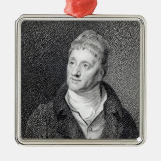 Portrait of Sir John Soane Christmas Tree Ornaments