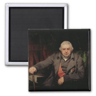 Portrait of Sir Joseph Banks, 1810 2 Inch Square Magnet