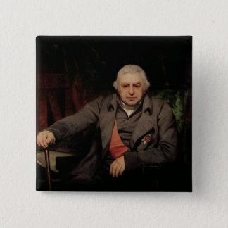 Portrait of Sir Joseph Banks, 1810 Button
