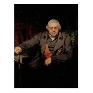 Portrait of Sir Joseph Banks, 1810 Postcard