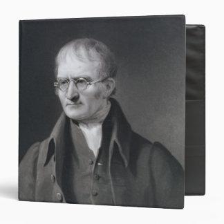 Portrait of Sir Joseph Thomson 3 Ring Binder