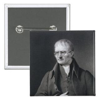 Portrait of Sir Joseph Thomson 2 Inch Square Button
