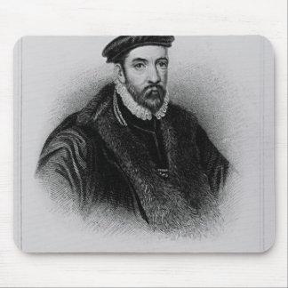 Portrait of Sir Nicholas Bacon Mouse Pad