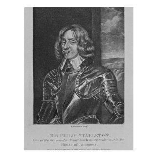 Portrait of Sir Philip Stapleton Postcard