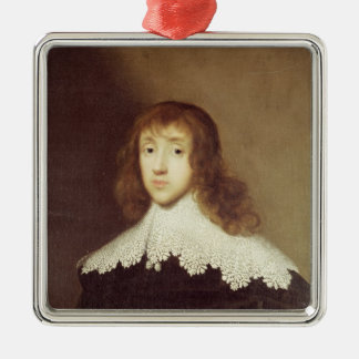 Portrait of Sir Ralph Verney Metal Ornament