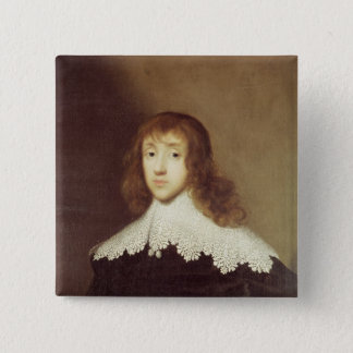 Portrait of Sir Ralph Verney Pinback Button