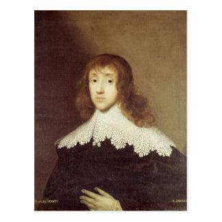 Portrait of Sir Ralph Verney Postcard