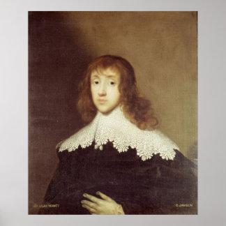 Portrait of Sir Ralph Verney Print