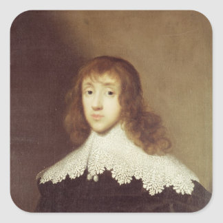 Portrait of Sir Ralph Verney Square Sticker