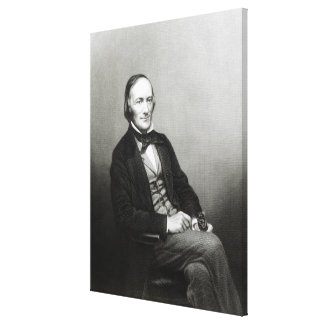 Portrait of Sir Richard Owen Canvas Print