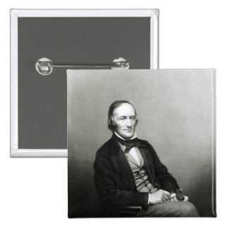 Portrait of Sir Richard Owen Pinback Button