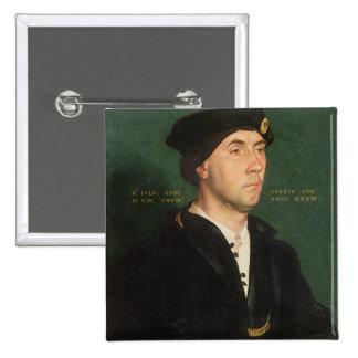 Portrait of Sir Richard Southwell (1504-64) 1536 ( Pinback Button