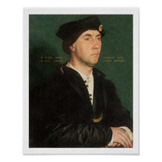 Portrait of Sir Richard Southwell 1504-64 1536 Poster