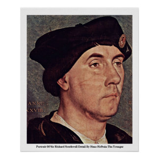Portrait Of Sir Richard Southwell Detail Posters